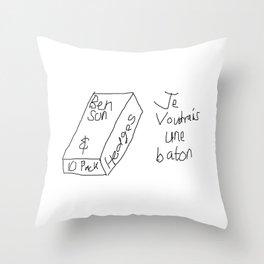 10 Bensons Throw Pillow