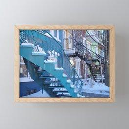 Montreal Local Color Framed Mini Art Print