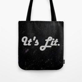 Lit. Tote Bag