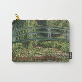 1899-Claude Monet-The Japanese Footbridge and the Water Lily Pool, Giverny-89 x 93 Carry-All Pouch