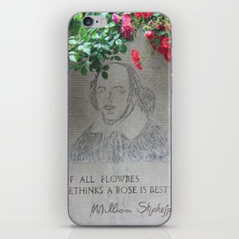 shakespeare iPhone Skin