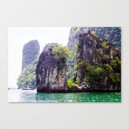 Cliffs in Thailand Fine Art Print  • Travel Photography • Wall Art Canvas Print