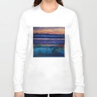 square Long Sleeve T-shirts featuring Square by Anna Harding