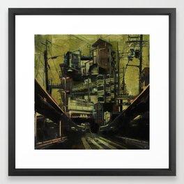 DISLOCATION Framed Art Print