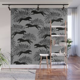 Black Panther Palm Glitter Glam #2 #tropical #decor #art #society6 Wall Mural