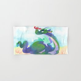 Crabby Dragon Hand & Bath Towel