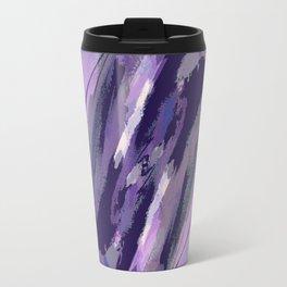 Thunder Plum Abstract Travel Mug