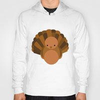 turkey Hoodies featuring Turkey by StephyLe