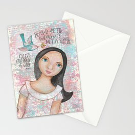 Peacemaker by patsy paterno Stationery Cards