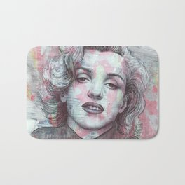 Marilyn - Give A Girl The Right Pair Of Shoes And She'll Conquer The World Bath Mat