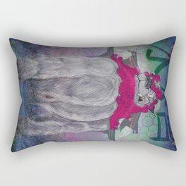 Guardian of the Suiten-gu  Rectangular Pillow