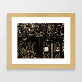 Cages Framed Art Print