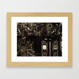 Cages Framed Art Print