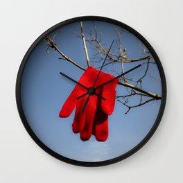 Lost Glove Wall Clock