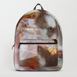 Husky Eyes Backpack