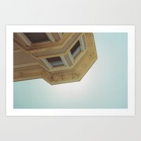 victorian Art Prints featuring victorian by jared smith