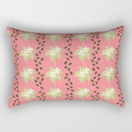 Coffee Bean Dreams (in Pink) Rectangular Pillow