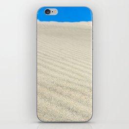 Sand dune iPhone Skin