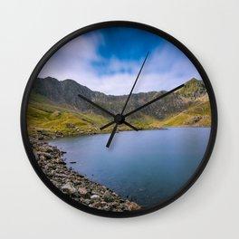 Summer in Snowdonia Wall Clock