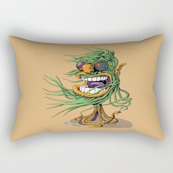 Hey Mr. Spaceman! Rectangular Pillow