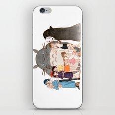 Hayao Miyazaki's Family iPhone & iPod Skin