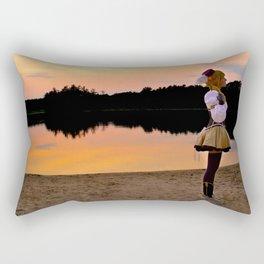 Sunset on the Beach Rectangular Pillow