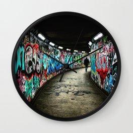 Subway Graffiti Art Wall Clock