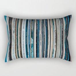 Old Vinyl Rectangular Pillow