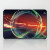 stargate iPad Cases featuring The Gate Abstract by minx267