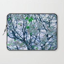 Cherry Blossom (Blue) Laptop Sleeve