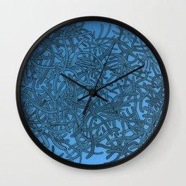 Lichen of the Sea Wall Clock