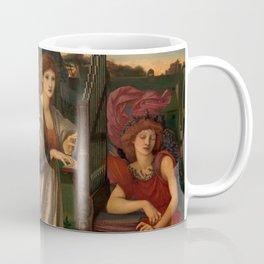 "Edward Burne-Jones ""The Love Song"" Coffee Mug"