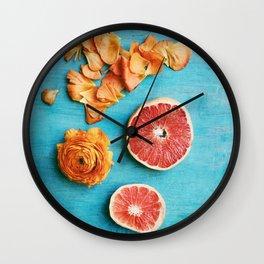 She Made Her Own Sunshine Wall Clock