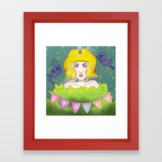 The Cutest Puke! Framed Art Print