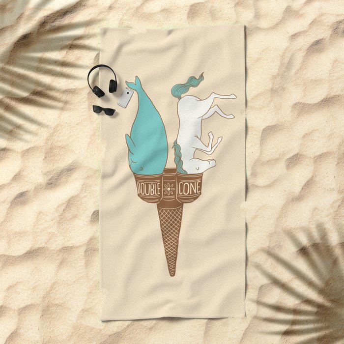Double Cone Beach Towel