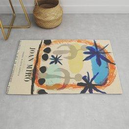 Joan Miro - Exhibition poster Paris Rug