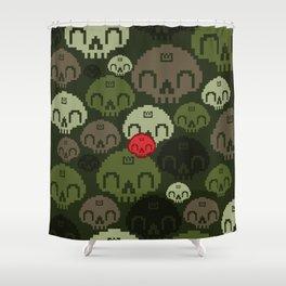 Jungle Camo Shower Curtain