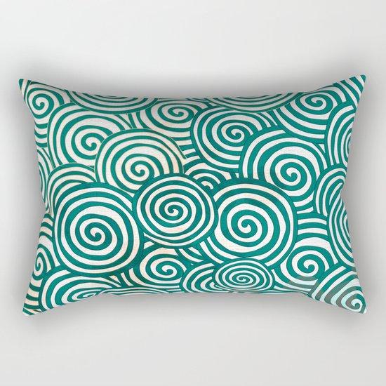 Waves of life Rectangular Pillow