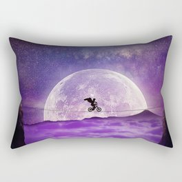 balance boy moonlight Rectangular Pillow