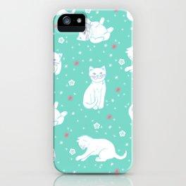 Snow Kitties iPhone Case