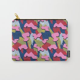 Memphis Pattern - Primary Carry-All Pouch