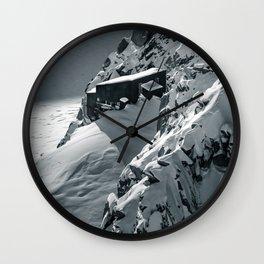 Snowbound Wall Clock