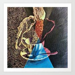 Corn in a Teacup Art Print