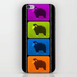 Mixed Sheeps iPhone Skin