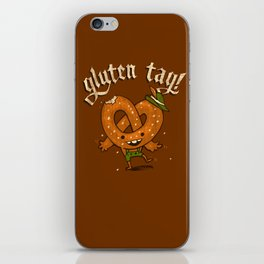 Gluten Tag iPhone Skin