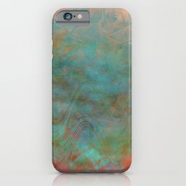 Scattered Earth iPhone Case