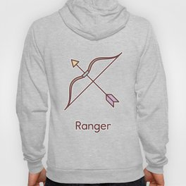Cute Dungeons and Dragons Ranger class Hoody