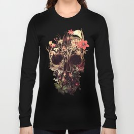Bloom Skull Langarmshirt