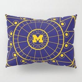 Michigan Mandala Pillow Sham