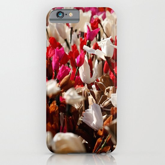 Paper flowers iPhone & iPod Case